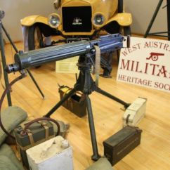 Wamhs 1914 Vickers Machine Gun