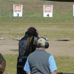 Big Game Rifle Pop Up Lion Event