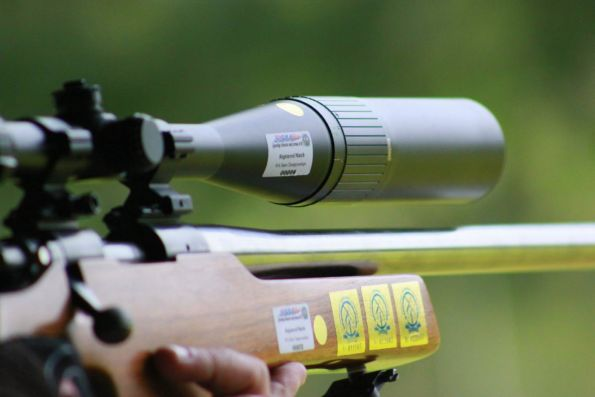 Field Rifle, 3-Positional, Scoped Air Rifle & NRA Any Sight
