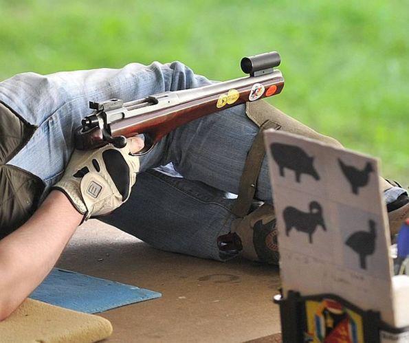 Handgun Metallic Silhouette | SSAWA