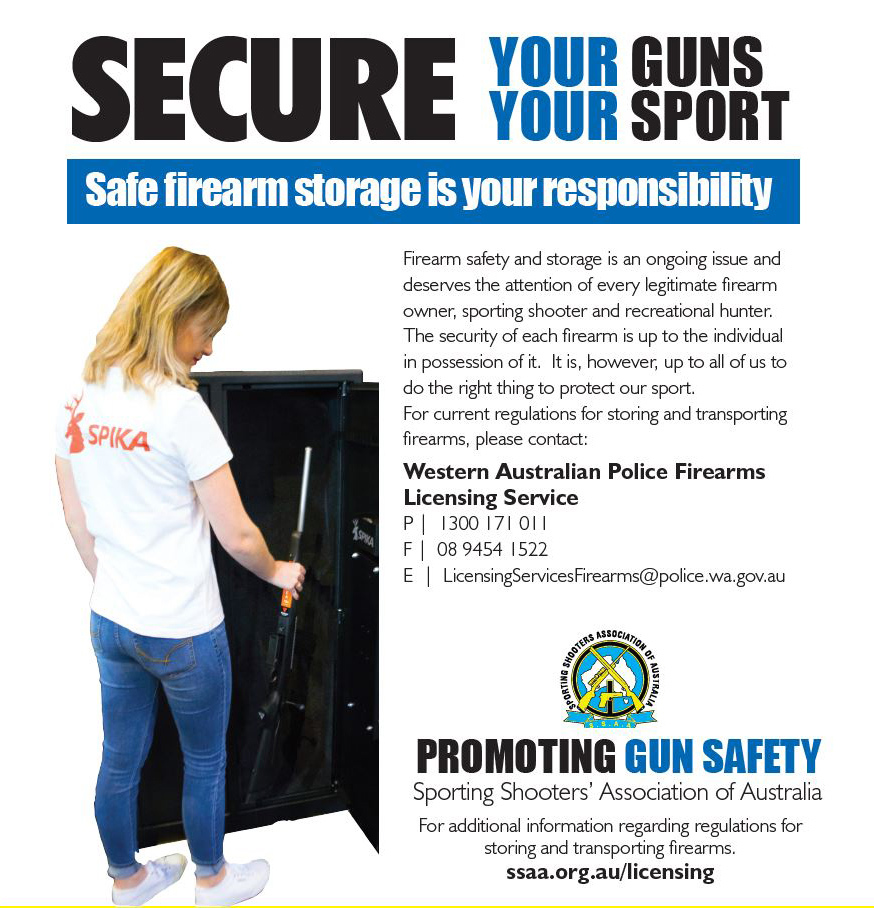 Secure your guns