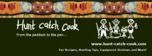 Hunt Catch Cook Logo